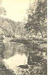 Spring Creek,State College, PA Postcard 1937