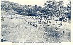 East Stroudsburg,PA, Swimming at Pinebrook Postcard