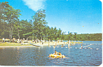 Promised Land Lake Poconos, PA Postcard