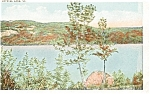 Crystal Lake Vermont  Postcard