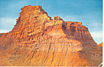 Click here to enlarge image and see more about item p12971: Badlands of South Dakota Postcard