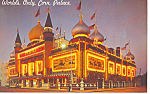 Click here to enlarge image and see more about item p12972: World's Only Corn Palace, South Dakota Postcard