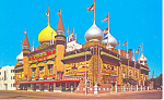 Click here to enlarge image and see more about item p12973: World s Only Corn Palace South Dakota Postcard p12973