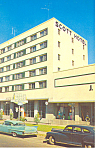 Thomasville, GA, Scott Hotel Cars 50s Postcard 1964