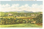 Rutland  Vermont  Green Mountains Postcard