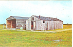 Wright Brothers Camp Buildings Outer Banks NC Postcard p12995