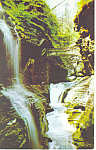 Rainbow Falls, Watkins Glen, NY Postcard