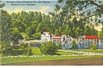 Hot Springs National Park AR Postcard p13016