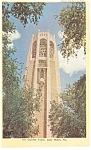 Click here to enlarge image and see more about item p13043: Lake Wales FL The Carillon Tower Postcard p13043
