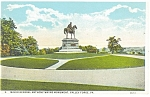 Valley Forge, PA, Anthony Wayne Monument Postcard