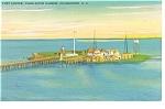 Click here to enlarge image and see more about item p13093: Charleston, SC Fort Sumter Postcard
