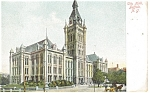 Click here to enlarge image and see more about item p13119: Buffalo NY  City Hall Postcard p13119 1907