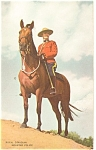 Click here to enlarge image and see more about item p13138: Royal Canadian Mounted Police Canada Postcard p13138