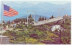 Grandfather Mt NC Mile High Bridge Postcard p13147