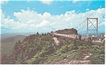 Grandfather Mountain NC  Postcard p13148