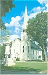 Manchester  VT Congregational Church Postcard p13150