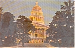 Click here to enlarge image and see more about item p1318: Sacramento CA State Capitol Postcard