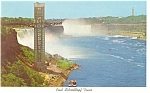 Paul Schoellkopf Tower,Niagara Falls Postcard