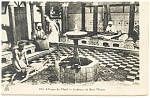 Click here to enlarge image and see more about item p13219: Afrique du Nord Interieur de Bain Maure Algeria Postcard p13219