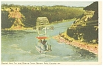 Click here to enlarge image and see more about item p13239: Spanish Aero Car over Niagara Gorge Postcard