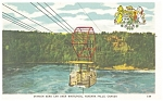 Click here to enlarge image and see more about item p13240: Spanish Aero Car over Whirlpool Niagara Falls Postcard p13240