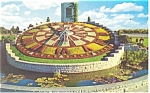 Click here to enlarge image and see more about item p13244: Ontario Hydro's Floral Clock Postcard