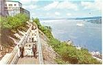 Promenade des Gouverneurs, Quebec, Canada Postcard