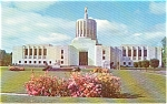 Salem OR State Capitol Postcard p1328