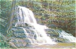Laurel Falls Great Smoky National Park TN Postcard p1337