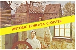 Click here to enlarge image and see more about item p13410: Ephrata, PA Historic Ephrata Cloister Postcard 1968
