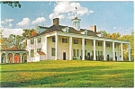East Front of Mount Vernon,VA Postcard