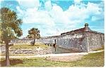 St Augustine,FL,Castillo de San Marcos Postcard