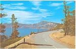 Crater Lake National Park Oregon Postcard p13457