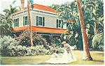 Click here to enlarge image and see more about item p13474: Fort Myers  FL Thomas Edison s Home Postcard p13474