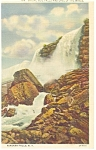 Bridal Veil Falls and Cave of the Winds Postcard p13477