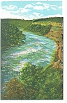 The Gorge of Niagara River Postcard 1936