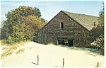 Click here to enlarge image and see more about item p13506: Desert of Maine Old Farm Barn Postcard