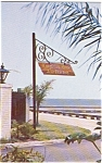 Pascagoula MS Longfellow House Sign Postcard p1350