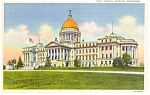 Jackson Mississippi State Capitol Postcard p1351