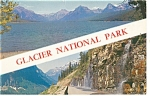 Click here to enlarge image and see more about item p13540: Glacier National Park Montana Postcard p13540 1971