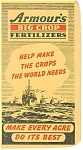 Click here to enlarge image and see more about item p13552: Armour's Fertilizers Advertising Notebook1944