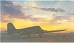 C-47 Douglas Skytrain Army Transport Postcard