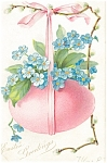 Click here to enlarge image and see more about item p13605: Easter Greetings Tuck s Postcard p13605