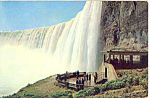 Plaza Below Horseshoe Falls, Canada Postcard