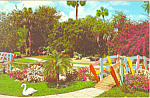 Click here to enlarge image and see more about item p13643: Fantasy Valley, Cypress Gardens,FL Postcard