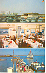 Capt Starns Restaurant Atlantic City  Postcard p13650