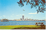 Click here to enlarge image and see more about item p13659: Toronto,Ontario Skyline Postcard 1967