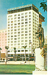 Columbus Hotel, Miami, Florida Postcard 1967