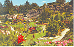 Click here to enlarge image and see more about item p13718: Vancouver BC Canada Quarry Gardens Postcard p13718