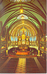 Click here to enlarge image and see more about item p13722: Notre Dame Church Montreal, Quebec,Canada Postcard